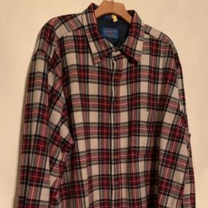 PENDLETON Virgin Wool Long Sleeve Sz XXL